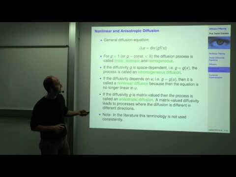 Variational Methods for Computer Vision - Lecture 4  (Prof. Daniel Cremers)