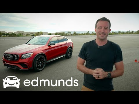 The Mercedes-Benz GLC 63 S AMG Coupe Is Faster Than Most Sports Cars | Edmunds Tested