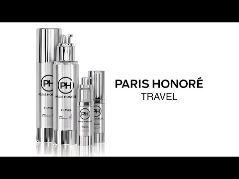 Introducing the PARIS HONORÉ luxury organic all in one TRAVEL product
