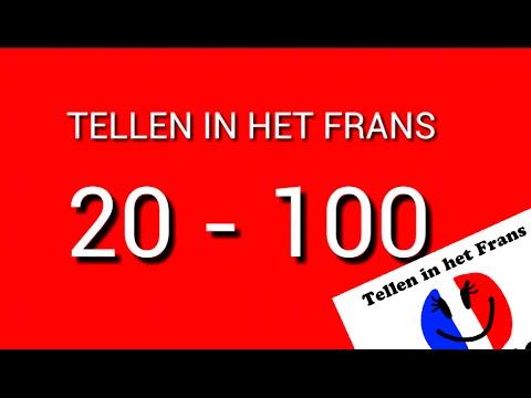 frans leren spreken #3: tellen 20 - 100 - youtube