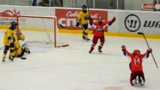 Sweden Select - Локомотив - 5:4(Б). Детский хоккей (2003г.р.)