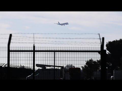 Watch Live: British Evacuation Jet From Coronavirus Zone Lands In UK