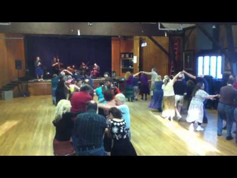 Contra Dance - Arden, DE - Donna Hunt, Raise the Roof