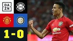 Youngster schießt Red Devils zum Sieg: Man United - Inter Mailand 1:0 | ICC 2019 | DAZN Highlights