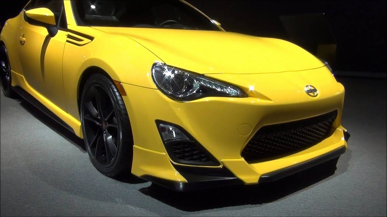 Limited Edition Yuzu Yellow Scion FR S TRD Aero Kit