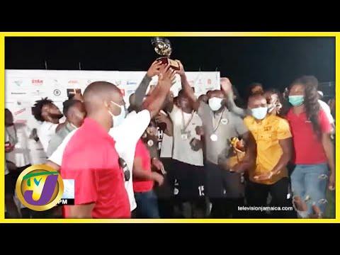 Cavaliers FC Jamaica's Premier League 2021 Campions - Oct 2 2021