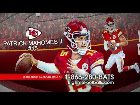 Patrick Mahomes II NFL MVP Football