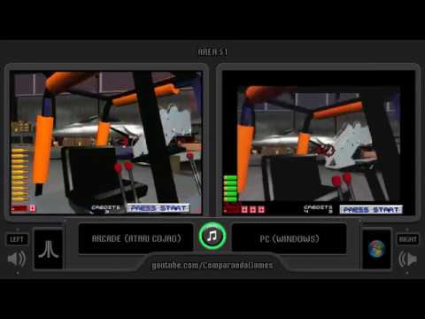Area 51 (Arcade vs Pc) Side by Side Comparison