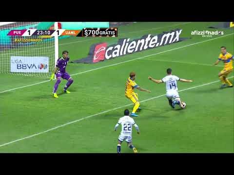 Gol de S. Ormeño | Puebla 1 - 1 Tigres | Liga BBVA MX - Guard1anes 2021 - Jornada 10