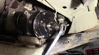 2001 Buick Park Avenue AC Compressor Clutch Replacement