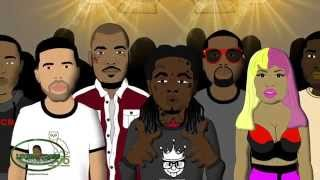 Lil Wayne vs Young Thug - Rap Battle (LT Animated Cartoon)