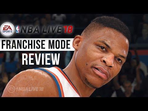 NBA Live 18 Franchise Mode Review / Walkthrough