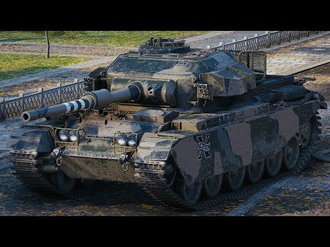 World of Tanks Centurion Mk. 7/1 - 7 Kills 8,5K Damage thumbnail