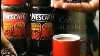 Nescafe: Three Up Two Down advert (Michael Elphick & Angela Thorne, 1991)