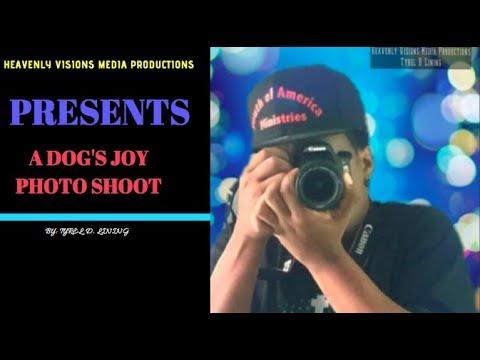 A DOG'S JOY PHOTOSHOOT HEAVENLY VISIONS MEDIA PRODUCTIONS 5-4-18