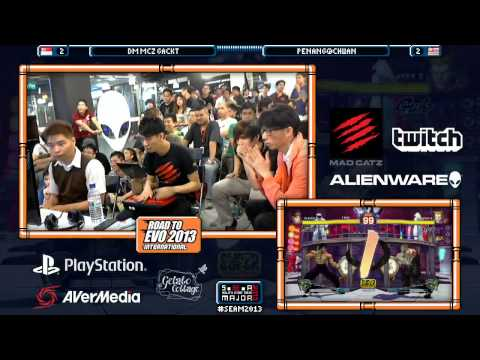 SEAM 2013 Final Day - Justin Wong, Gackt, Xian [SSF4 AE 2012] Part.6