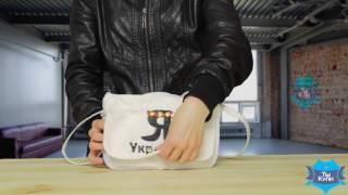 Видеообзор женской сумки из ткани ТМ Котико. Купить сумку из ткани.