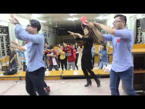 Điệu nhảy rửa tay - Học viên tại Jaxtina English