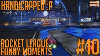 MACH LEFT AND WE WIN! - Rocket League Funny Moment #9