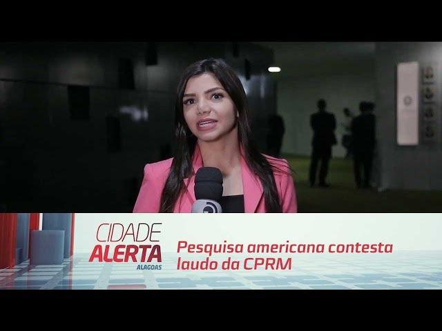 Pesquisa americana contesta laudo da CPRM sobre rachaduras em Maceió