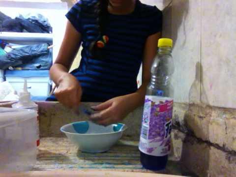 Como hacer slime sin b rax ni almid n l quido youtube - Como hacer plastico liquido ...