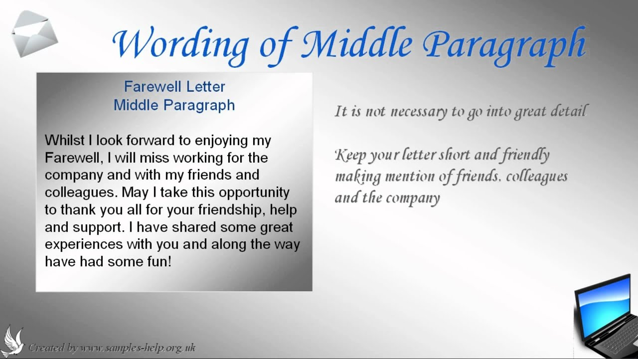 how to write a farewell letter to coworkers how to write a farewell letter to coworkers