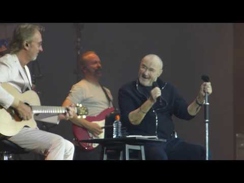 Don Action Jackson - Genesis' Phil Collins and Mike Rutherford Reunite On Stage In Berlin