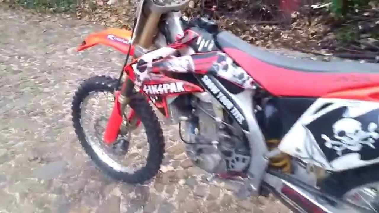 HONDA CRF 450 R 2008 - YouTube