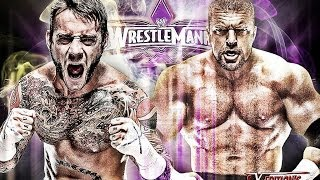 CM Punk vs Triple H Wrestlemania 30 Promo HD