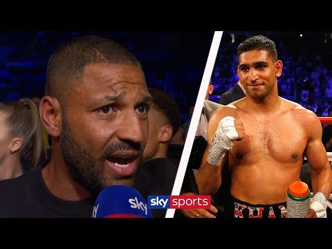 """""""AMIR KHAN IS ROBBING THE BRITISH PUBLIC!"""" - Kell Brook on rehydration clause"""