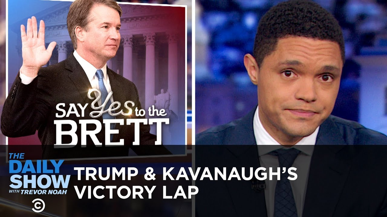 trump-takes-a-victory-lap-after-kavanaugh-is-sworn-in-the-daily-show