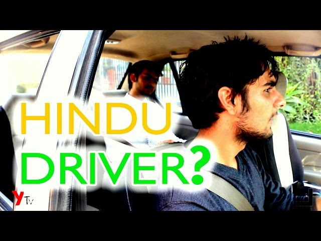 This Guy needed a HINDU Cab Driver - In The End He Learns an Imp. Lesson