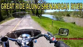 Great ride along the Shenandoah River