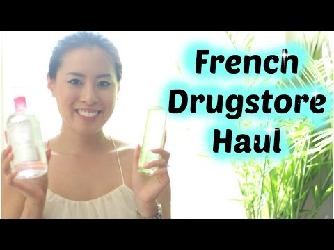 Drugstore Haul | French Beauty Products | Caudalie, Bioderma, Vichy