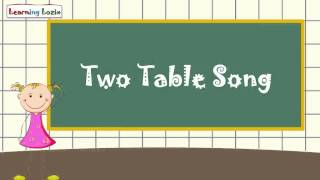 Math Table of 2 for kids