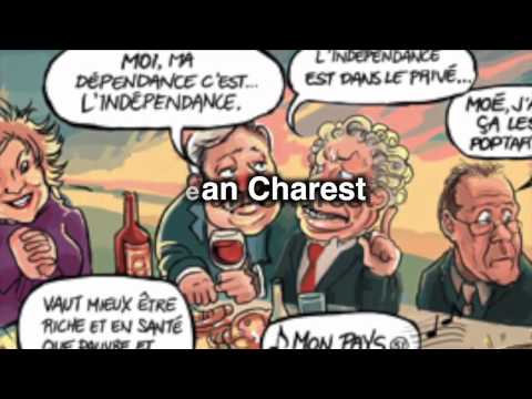 Une bédé - Le Québec la vraie histoire - dun ptit peuple ben accommodant Tome 1