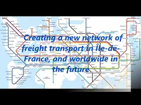 Modélisation Réseau Hyperloop en Ile-de France