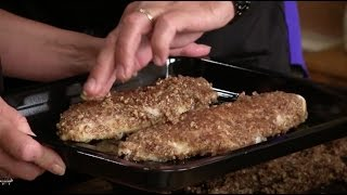 Pecan-crusted Walleye And Chicken Piccata (episode #219)
