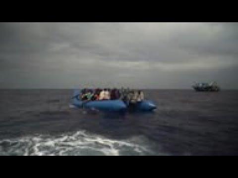 Ocean Viking rescues 50 migrants off Libya