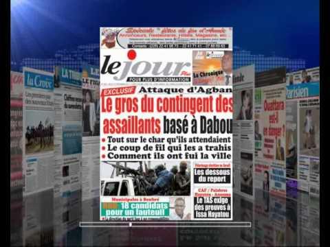 AFRIQUE MEDIA production REVUE FRANCAISE  DU  27  12  2012