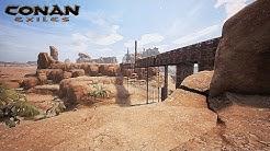 CONAN EXILES #29 Der Brücken Bau ist Komplex! | Gameplay German | Let's Play Deutsch