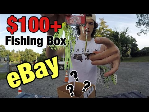 MYSTERY FISHING BOX From EBAY! (SURPRISING)