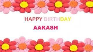Aakash   Birthday Postcards & Postales - Happy Birthday
