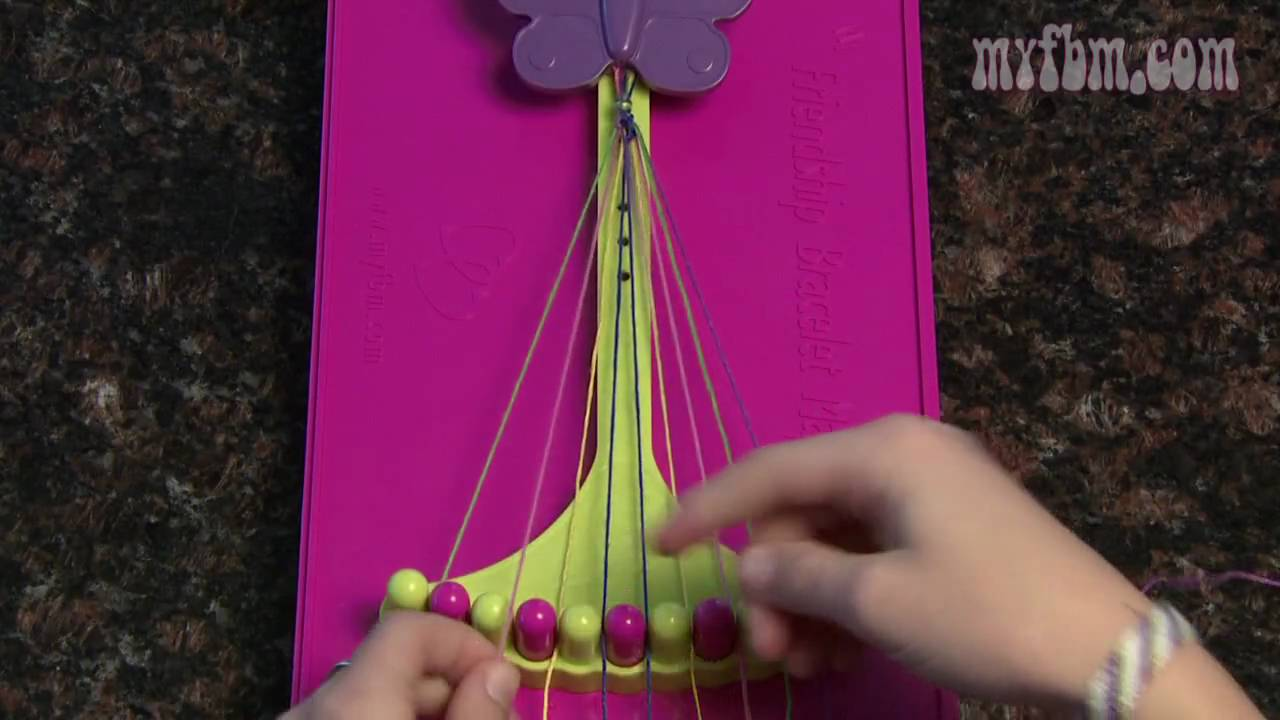 My Friendship Bracelet Maker  Arrows Pattern Instructions
