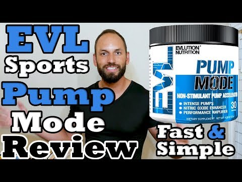 Evlution Nutrition |Pump Mode|  EVL Sports Review