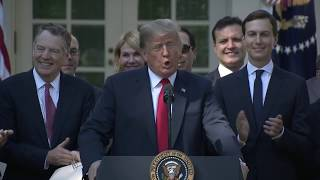 Remarks by President Trump on the United States-Mexico-Canada Agreement