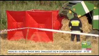 17-latka zginęła w wypadku maszyny rolniczej. Wcześniej straciła ojca, sama prowadziła gospodarstwo