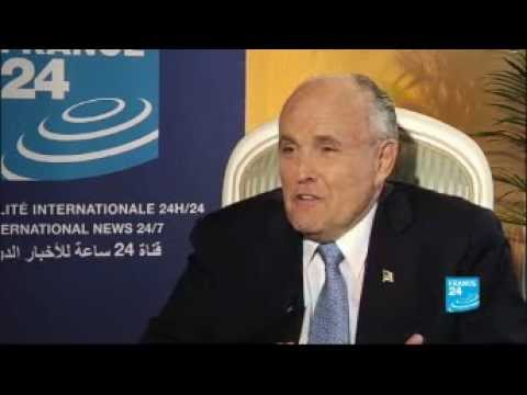 FRANCE24: Interview with Rudolph Giuliani, Gathering of the Iranian Resistance in Paris 2012