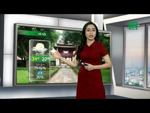 Thời tiết đô thị 24/07/2019: Hà Nội có mưa rải rác về sáng và tối| VTC14