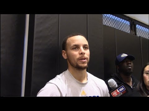 Steph Curry On If He'll Take A Pay Cut So Kevin Durant Can Stay. HoopJab NBA